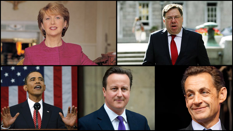 Ceannairí Domhanda | World Leaders